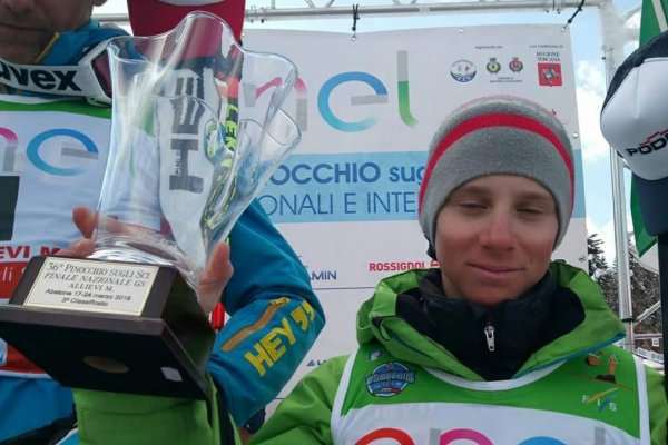 "Seppi Davide, 3. Platz Nationale Qualifikation ""Pinocchio sugli sci"", Abetone"