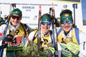 IBU YOUTH & JUNIOR WORLD CHAMPIONSHIPS Osrblie - Tommaso Giacomel (r.)