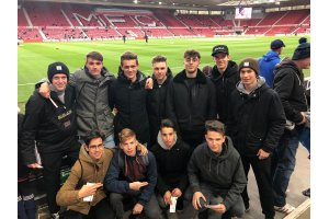 4B FOWI Scarborough - im Stadion, Middlesbrough gegen Norwich