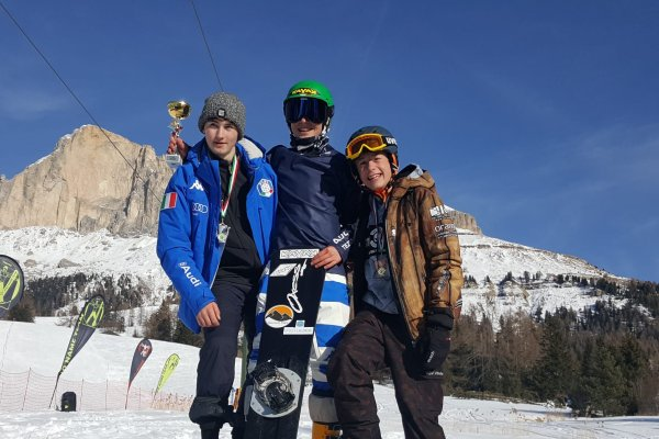 Snowboard Coppa Italia Carezza