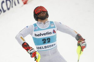 Simon Maurberger in Adelboden - Foto: sportnews.bz